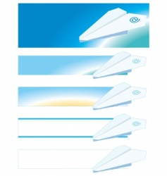 airmail vector image vector image