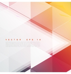 background abstract polygon triangles vector image vector image