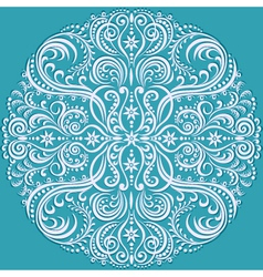 circle pattern color vector image
