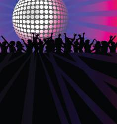 dance club vector image vector image