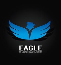 Eagle design vector image