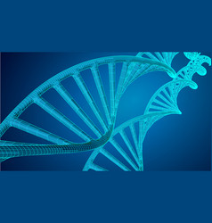 genome dna dna structure eps vector image