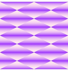 Geometric seamless pattern of rhombus vector image