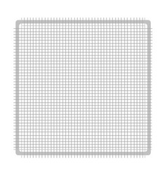 isolated gauze icon vector image