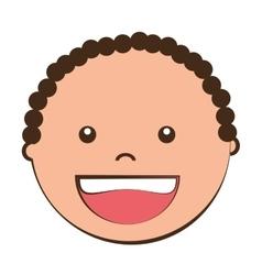Little kids cartoon graphic design vector