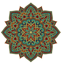 oriental abstract mandala vector image
