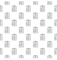 to do list outline concept seamless pattern vector image