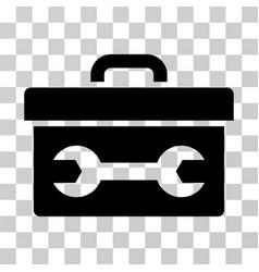 toolbox icon vector image vector image
