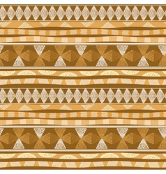 Seamless pattern with Mexican design vector image vector image