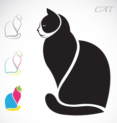 image of an cat vector image vector image