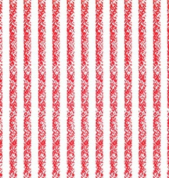 Pastel crayon background with red and white vector image vector image