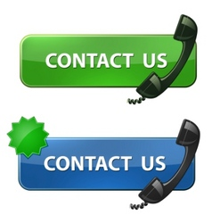 contact us icon vector image vector image