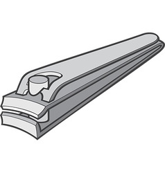 Nail clipper vector
