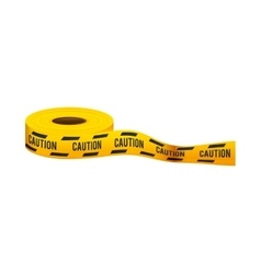 tape dont cross precaution vector image