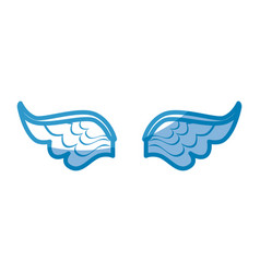 wings icon image vector image vector image