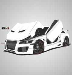A4 car vector