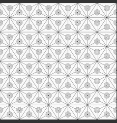 Abstract seamless pattern triangles divided vector