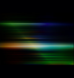 Abstract speed lines with colors background vector