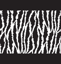 abstract styled animal skin tiger seamless pattern vector image