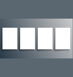 blank background template for cover brochure vector image
