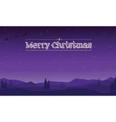 cartoon of Merry Christmas vector image