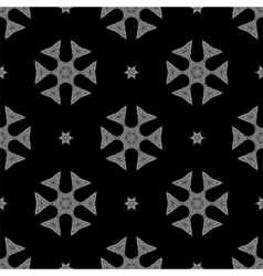 Creative Ornamental Seamless Grey Pattern vector