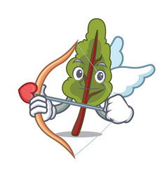 cupid chard character cartoon style vector image