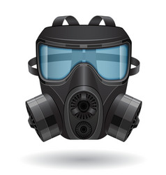 gas mask 04 vector image