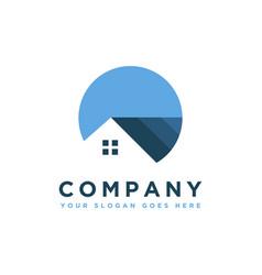 modern minimalist house estate property logo icon vector image