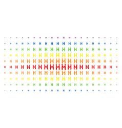 persons handshake spectrum halftone matrix vector image