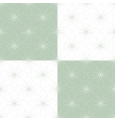 Seamless geometric ornament vector