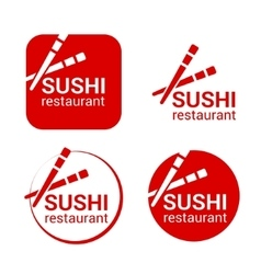 Symbol of sushi restaurant vector