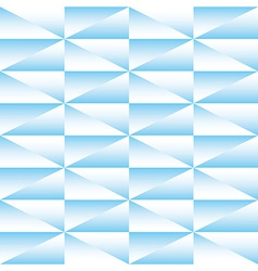 Geometric seamless pattern of triangles vector image vector image
