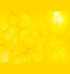 abstract yellow square party background vector image