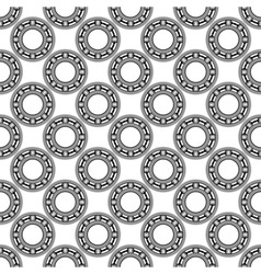 Ball bearing pattern vector image vector image