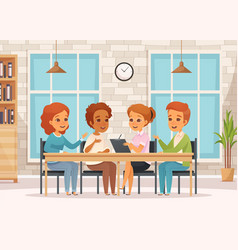 Colored group therapy composition vector
