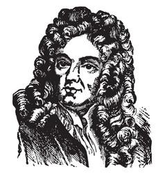 Joseph addison vintage vector