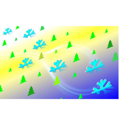 merry isometry christmas vintage background with vector image
