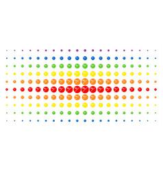 Pharmacy tablet spectral halftone pattern vector