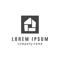 House Creative Logo Design vector image