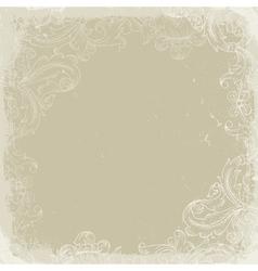 vintage background beige vector image vector image