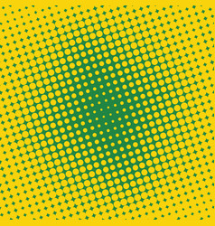 background halftone circle vector image vector image