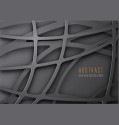 Abstract dark metal mesh background vector