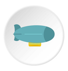 Blue oil barrel icon circle vector
