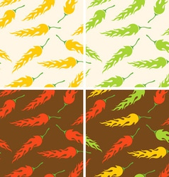 Chilli pattern vector image