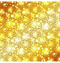 Christmas golden glitter background vector