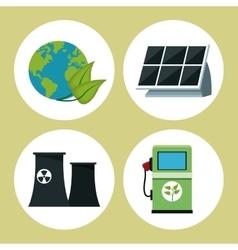 Collection environment clean energy vector