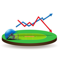 Concept of statistics about the cricket vector