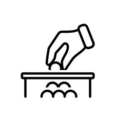 donation vector image