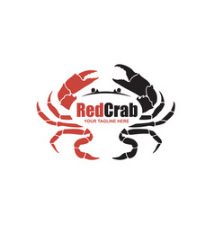 image with crab vector image